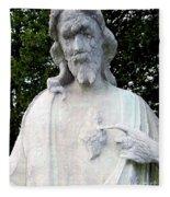 Limestone Jesus Fleece Blanket