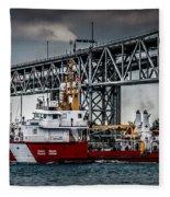Limnos Coast Guard Canada Fleece Blanket