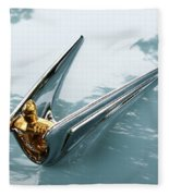 Lincoln Capri Hood Ornament Fleece Blanket