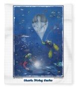 Lincoln Diving Center Fleece Blanket