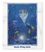 Lincoln Diving Center Fleece Blanket