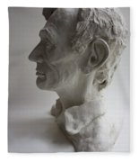 Lincoln-honest Abe Fleece Blanket