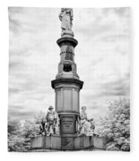 Lincolns Gettysburg Address Site  Fleece Blanket