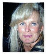 Linda Evans 1991 Fleece Blanket