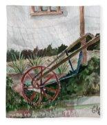 Lindas' Garden Fleece Blanket