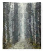 Linden Alley Fleece Blanket