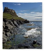 Lindisfarne Castle Fleece Blanket