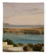 Lindos Rhodes Fleece Blanket