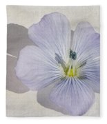 Linen Watercolour Fleece Blanket