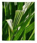 Lines Of Nature Fleece Blanket