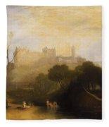 Linlithgow Palace Fleece Blanket