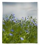Linseed Fleece Blanket