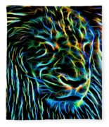 Lion - 1 Fleece Blanket