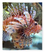 Lionfish Fleece Blanket