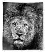 Lion's Eyes Fleece Blanket