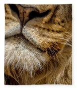 Lions Mouth 2 Fleece Blanket
