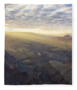 Lipon Point Sunset - Grand Canyon National Park - Arizona Fleece Blanket