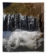 Liquid Bubbles Fleece Blanket