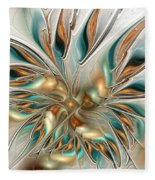 Liquid Flame Fleece Blanket