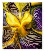 Liquified Orchid Fleece Blanket