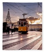 Lisbon Light Fleece Blanket