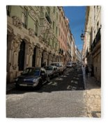 Lisbon Street Fleece Blanket