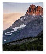 Lit Peaks Fleece Blanket