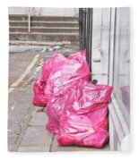 Litter Bags Fleece Blanket