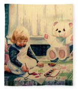 Little Artist Fleece Blanket