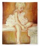 Little Ballerina Fleece Blanket