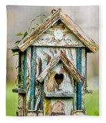 Little Birdhouse Fleece Blanket