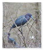 Little Blue Lake Martin Louisiana Fleece Blanket