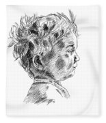 Little Boy Fleece Blanket