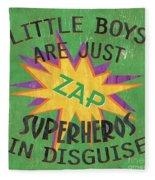Little Boys Are Just... Fleece Blanket