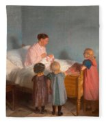 Little Brother Fleece Blanket