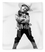 Little Buckaroo Fleece Blanket