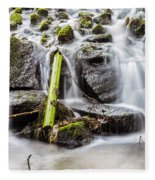 Little Cascade In Marlay Park Fleece Blanket