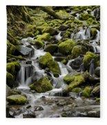 Little Cascades Fleece Blanket