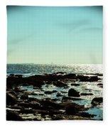 Little Compton Coast Fleece Blanket