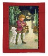 Little Drummer Boy Fleece Blanket