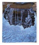 Little Frozen Waterfall Fleece Blanket