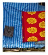 Little Girl  Fleece Blanket