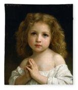 Little Girl Fleece Blanket