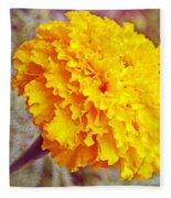 Little Golden  Marigold Fleece Blanket