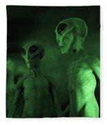 Aliens And Ufo 6 Fleece Blanket