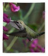 Little Happy Wings  Fleece Blanket