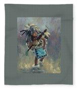 Little Kootenai Dancer Fleece Blanket