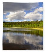 Little Lost Lake Fleece Blanket