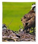 Little Osprey Fleece Blanket