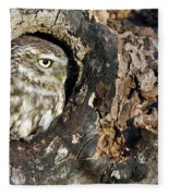 Little Owl 4 Fleece Blanket